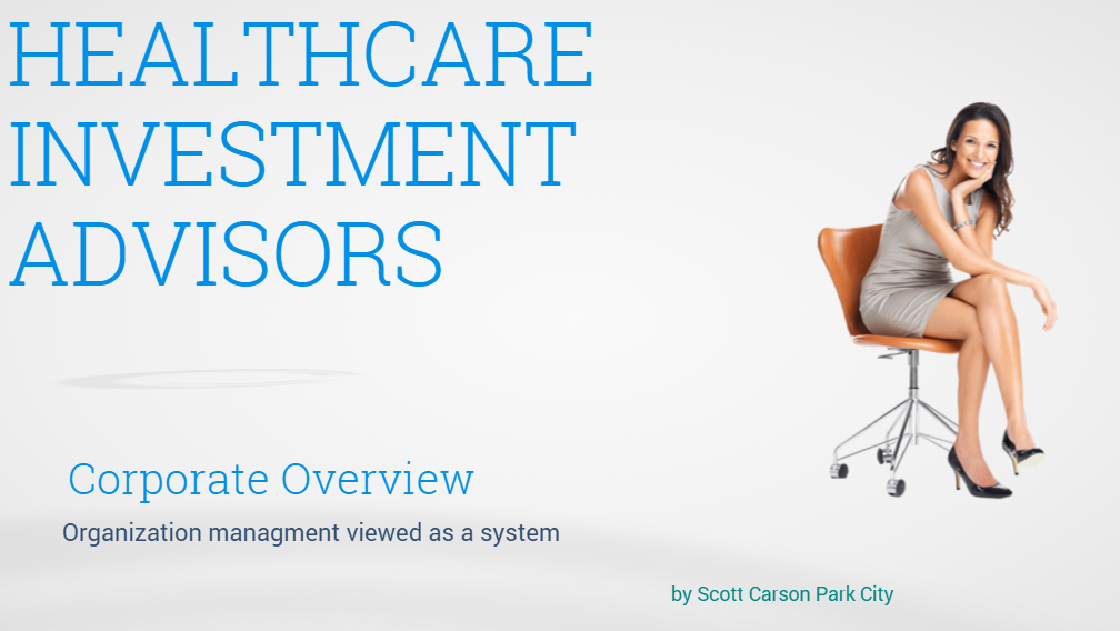 healthcare industry Scott Carson Park City